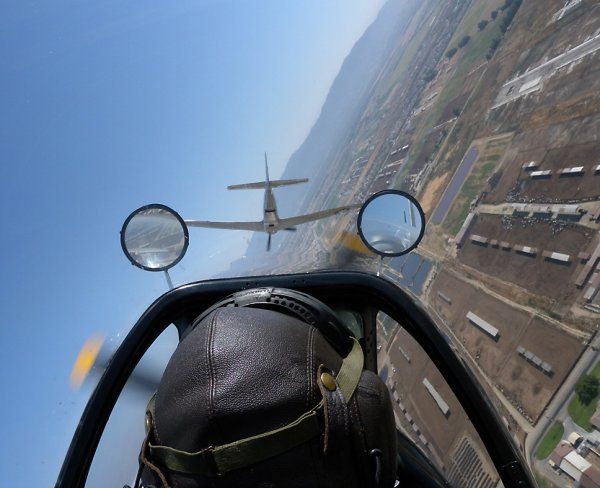 Formation flying at Chino